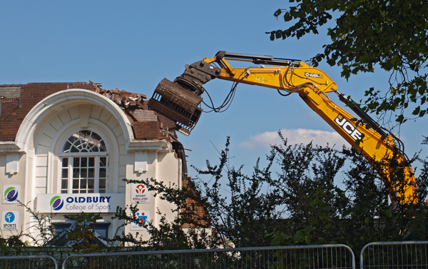 ogs demolition jcb